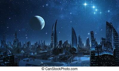 City of aliens.