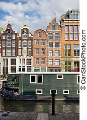 City of Amsterdam in Holland