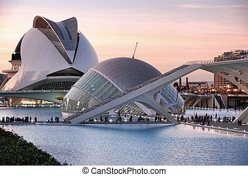 City of Arts and Sciences, Valencia - The City of Arts and...