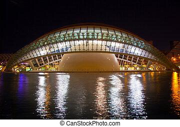 City of Arts and Sciences Valencia, Spain - Hemisferic The...