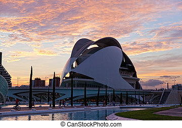 CITY OF ARTS AND SCIENCES VALENCIA, SPAIN