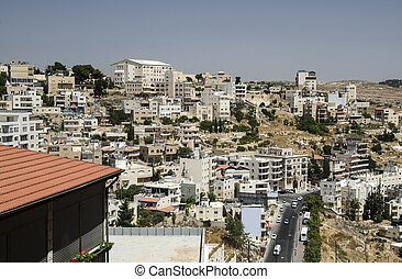 City of Bethlehem, general view panorama