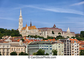City of Budapest Cityscape Skyline in Hungary