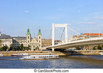 City of Budapest in Hungary