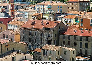City of Calvi, Corsica, France