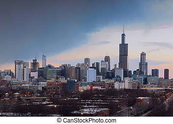 City of Chicago, Illinois, USA