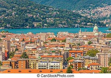 City of Como Panorama