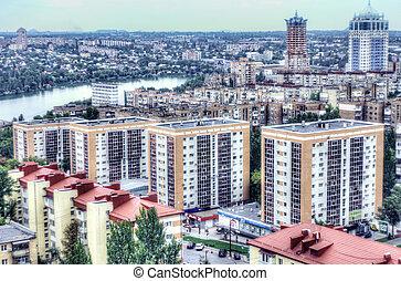 city ???'??????'???of Donetsk, Ukraine