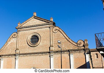 City of Ferrara Italy