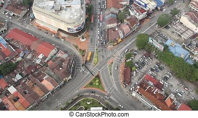 City of Georgetown on Penang Islan - The 66-storey Komtar...