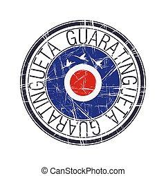 City of Guaratingueta, Brazil vector stamp