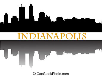 Indianapolis - City of Indianapolis high rise buildings...