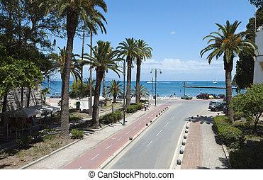 City of Kos island in Greece