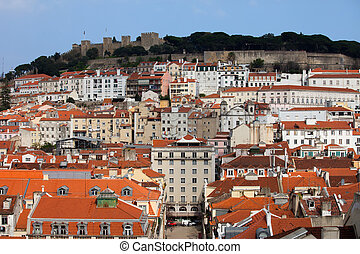 City of Lisbon in Portugal