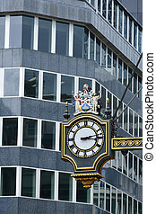 city of london street clock
