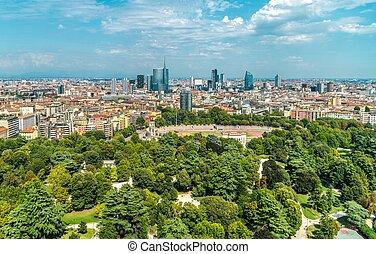 City of Milan Panorama
