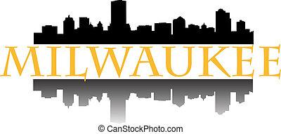 Milwaukee  - City of Milwaukee high rise buildings skyline