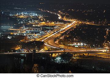 City of Pittsburgh, Pennsylvania traffic