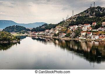 City of Ploce near Dubrovnik, Dalmatia, Croatia