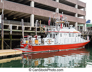 City of Portland Maine Fire Boat