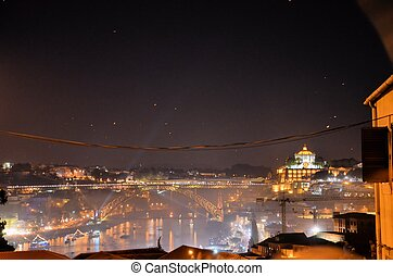 City of Porto at night