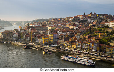 Porto - City of Porto from above, Portugal