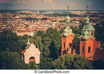 City of Prague Panorama