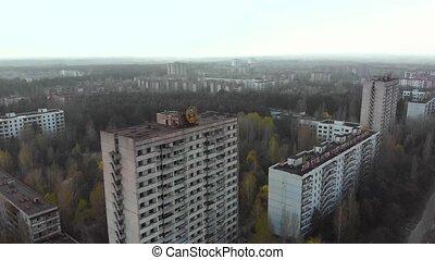 City of Pripyt near Chernobyl nuclear power plant - Pripyat...
