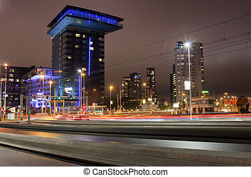 City of Rotterdam at Night