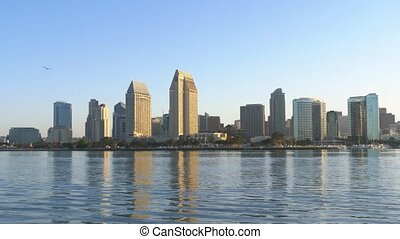 City of San Diego at dawn