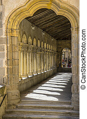 City of Segovia, famous for its Roman aqueduct, in Spain