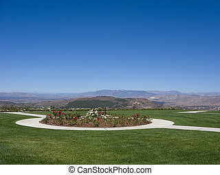 Simi Valley as seen from Ronal Regan Memorial Library and Museum, California