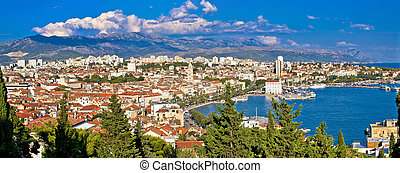City of Split panoramic view