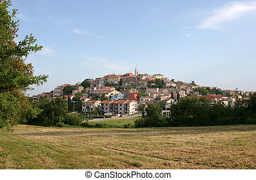 City of Vrsar in Croatia
