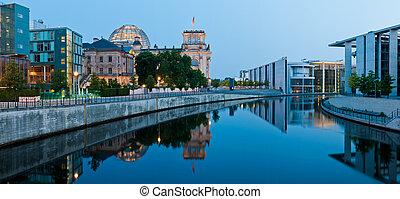 City Panorama Berlin, Germany