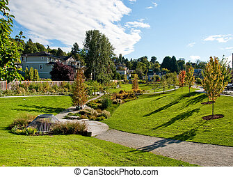 City park - Neighborhood park in Seattle