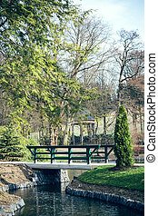 City Park with bridge