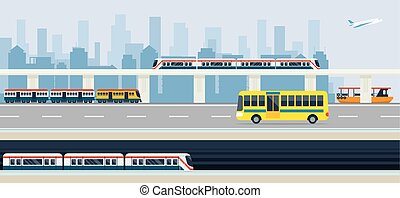 City, Public Transport and Transit