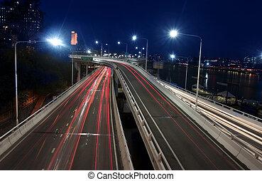 Brisbane city road