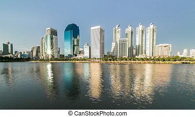 city scape of Bangkok, Thailand