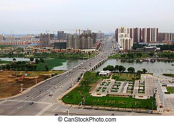 City Scenery in North China region