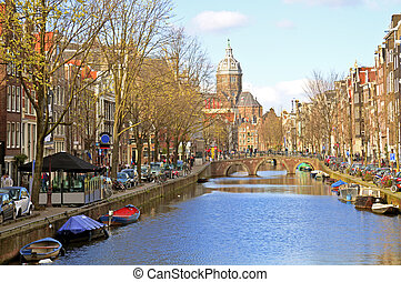Amsterdam in the Netherlands