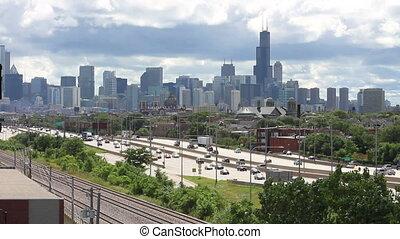 City Skyline and Traffic 2