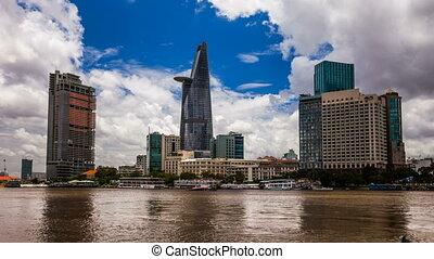 CITY SKYLINE - Ho CHi Minh City, VI