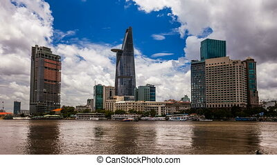 CITY SKYLINE - Ho CHi Minh City, VI