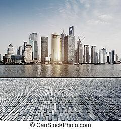 City Square at shanghai, china