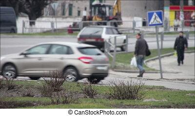 City Street Traffic