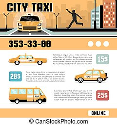 City Taxi Services Web Page Template