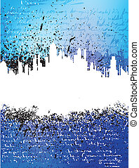 city theme background