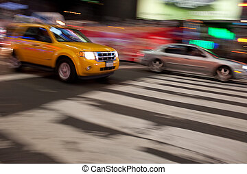 City Traffic Blur